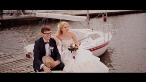 EEVA CIA Contest 2012 - The Best Walk - Wedding day: Evgeny + Olga