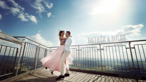 EEVA CONTEST 2013 - Best Video Editor - Natasa & Milan - On the top of Zurich - Love Story