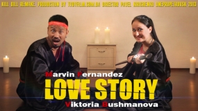 EEVA CONTEST 2013 - Best Videographer - Love Story Marvin & Vika (Kill Bill Remake)