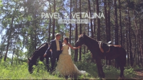 EEVA CONTEST 2013 - Best Wedding Highlights Video - Pavel & Vetalina || highlights