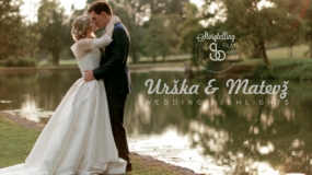 EEVA КОНКУРС 2015 - Видеограф года - Urška & Matevž - Wedding Highlights