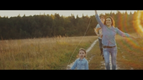 EEVA CONTEST 2015 - Children video - Дарья и Алексей - Love Story (WELCOME FILMS)