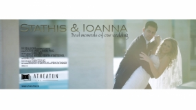 wedding, Stathis & Ioanna - Best Moments - Atheaton Films, Chania, Athens